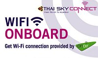 Thai Airways Internet: wifi-onboard